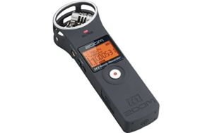 Zoom H1 Handy Recorder – Matt-schwarz